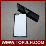 Customzied TPU para la caja del teléfono de la sublimación de Huwwei P8