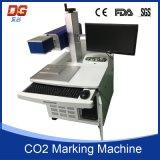 Máquina ampliamente utilizada de la marca del laser de la fibra en cuadrado del metal de Alemania