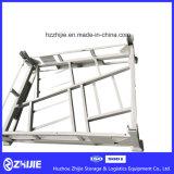 Подгонянные изготовлением рамки стального хранения покрышки штабелируя