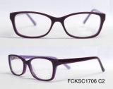 Le monocle de lunetterie d'acétate de mode de la qualité 2016 badine le bâti en verre optiques