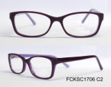 O Eyeglass de Eyewear do acetato da forma da alta qualidade 2017 caçoa o frame dos vidros óticos