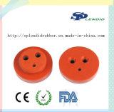 Peça personalizada do silicone esteira de borracha
