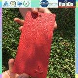 Revestimento exterior Thermosetting do pó do pulverizador da textura de Coton do crocodilo da pintura da textura