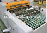 De un rodillo de corte longitudinal de la máquina de corte vertical y A4 papel de copia
