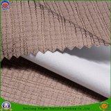 가정 직물 창 커튼을%s 폴리에스테에 의하여 길쌈되는 방수 Fr 코팅 정전 직물