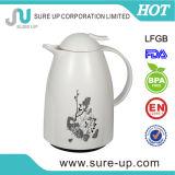 De patroon Afgedrukte Pot van de Koffie van het Glas Binnen Vacuüm met Plastic Lichaam (JGUN)