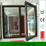 최신 제품 새로운 디자인 강화 유리를 가진 알루미늄 여닫이 창 Windows