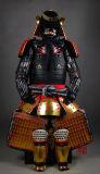 Tragbare japanische Samurai-Rüstung für Cosplay