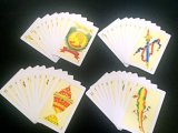 Spanisches Plastikplayingcards