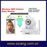 El más nuevo de la cámara del monitor del bebé con funciones de bebé del ritmo cardíaco y de temperatura