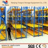 Langer Überspannungs-Lager-Speicher-industrielles Metallregal/-zahnstange