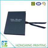 Contenitori di regalo neri stampati marchio su ordinazione del cartone