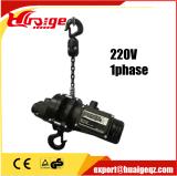 중국 온라인 쇼핑 220V 380V 440V 전기 단계 체인 호이스트