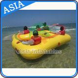 Раздувные шлюпки для 4 людей, шлюпки донута донута воды Inflatabel Towable