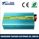Inverseur de relation étroite de réseau de la qualité 1200W avec la protection renversée de polarité