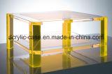 Table basse acrylique faite sur commande