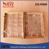 Портативная алюминиевая резцовая коробка /Yellow случая
