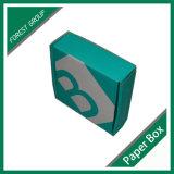 Kundenspezifischer Karton-Kasten mit dem Firmenzeichen gedruckt