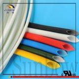 Tubo Braided rivestito di silicone flessibile resistente a temperatura elevata Sb-SGS-25 della fibra di vetro