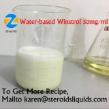 Base inyectable Winstrol del agua de las inyecciones de los esteroides para el músculo Gainning