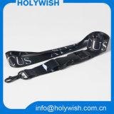 Acolladores impresos cinta disidente del cuello del poliester del acontecimiento con insignia de la sublimación