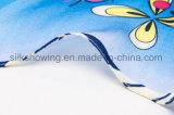 Écharpe en soie de sergé de grand dos d'impression de Digitals de tissu en soie