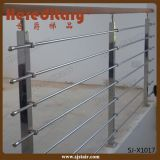バルコニー/デッキ(SJ-H1631)のためのSU 304#のステンレス鋼ケーブルの柵の手すり