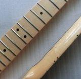 Cuello tele de la guitarra del arce canadiense de una pieza Finished del lustre