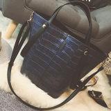 2017 sacs à main 2PCS/Set Sy7897 de configuration de crocodile de dames de sac à main d'emballage de tailles importantes