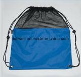 バスケットボールコンパートメント/熱い昇進のスポーツのドローストリング袋が付いているスポーツ袋は/最もよくドローストリング袋を遊ばす