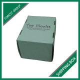 出荷および卸しで包装のための光沢のある白い波形のカートンボックス