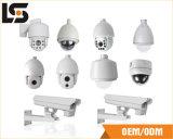 Aluminiumlegierung Druckguß für Überwachungskamera zerteilt (an der Wand befestigter Halter/Kameragehäuse)