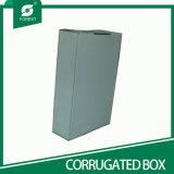 Caixa de embalagem ondulada colorida preto para o transporte