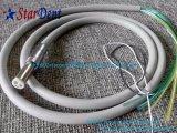 Tube à main en fibre optique à 6 trous (spirale) pour unités dentaires