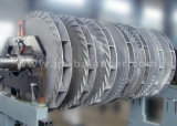 Grande machine de équilibrage dynamique horizontale de rotor de turbine