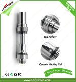 Atomizzatore di ceramica superiore dell'olio del flusso d'aria 0.5ml/1.0ml C18-C Vape Cbd