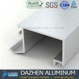 Couleurs personnalisées de profil en aluminium de l'extrusion 6063 de porte de guichet différentes