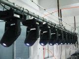 LEDのGobo移動ヘッドライト60W段階の照明によってDJはディスコの結婚式の照明がパーティを楽しむ