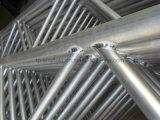 Feixe de alumínio da escada do andaime para o equipamento de construção do andaime