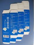 China automática plegable el aplicador de la escritura de la etiqueta del cartón