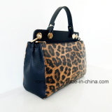 Borse d'avanguardia del leopardo della signora PU di modo del progettista (NMDK-052702)
