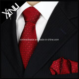 Corbatas tejidas seda pura hecha a mano del asunto de manera del 100%