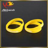 Рециркулированный изготовленный на заказ резиновый браслет силикона Wristband для оптовой продажи партии