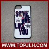 Caixa plástica personalizada Sublimation do telefone móvel para o caso do iPhone 7
