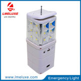 luz solar recargable de la emergencia LED de la C.C. 3W