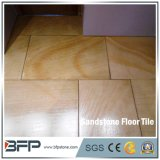 De Natuurlijke Tegel van uitstekende kwaliteit van het Zandsteen van China van de Tegels van de Vloer van de Steen/het Bedekken