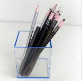 De transparante Blauwe AcrylDoos van de Vertoning van de Pen