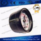 40mm '' schwarzer Stahlallgemeiner 1.5 Minidruckanzeiger