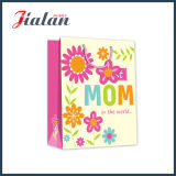 la tarjeta blanca 210g imprimió por completo la bolsa de papel laminada del día del `S de la madre