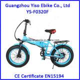 36V 10Aは安い20インチの脂肪質の折りたたみ雪のE自転車を卸し売りする